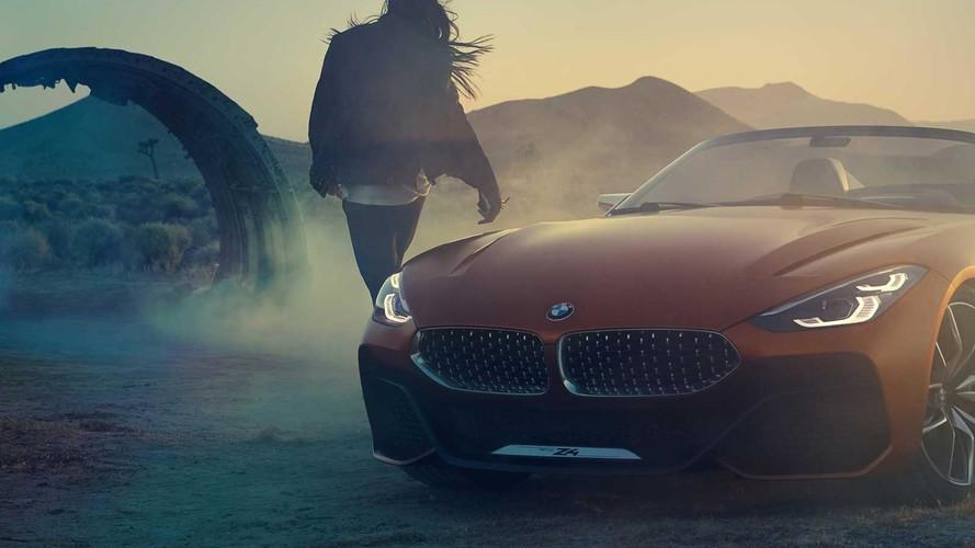 Vazou! -  BMW Z4 Concept aparece por completo antes da hora