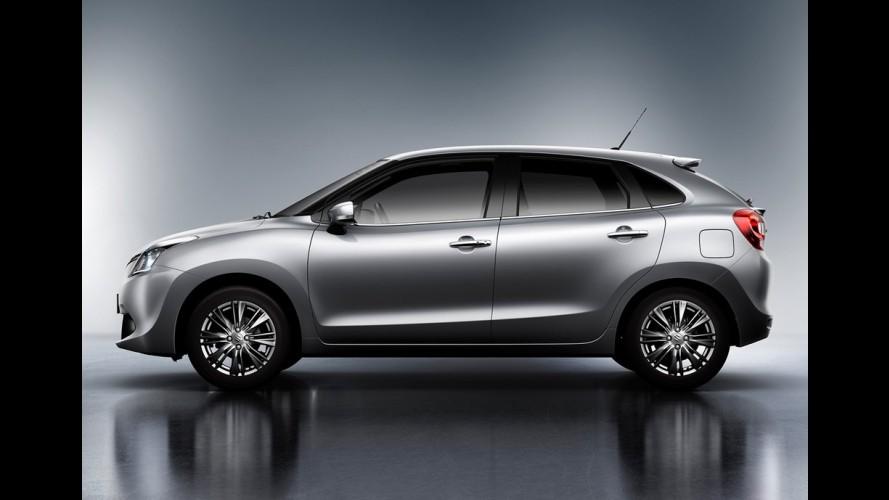 Suzuki divulga primeira foto do novo hatch Baleno; estreia será em setembro