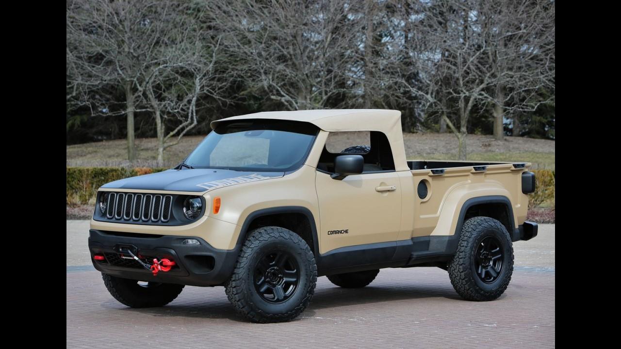 Jeep crew chief concept antecipa picape derivada do wrangler for Cabine nei pini logan oh