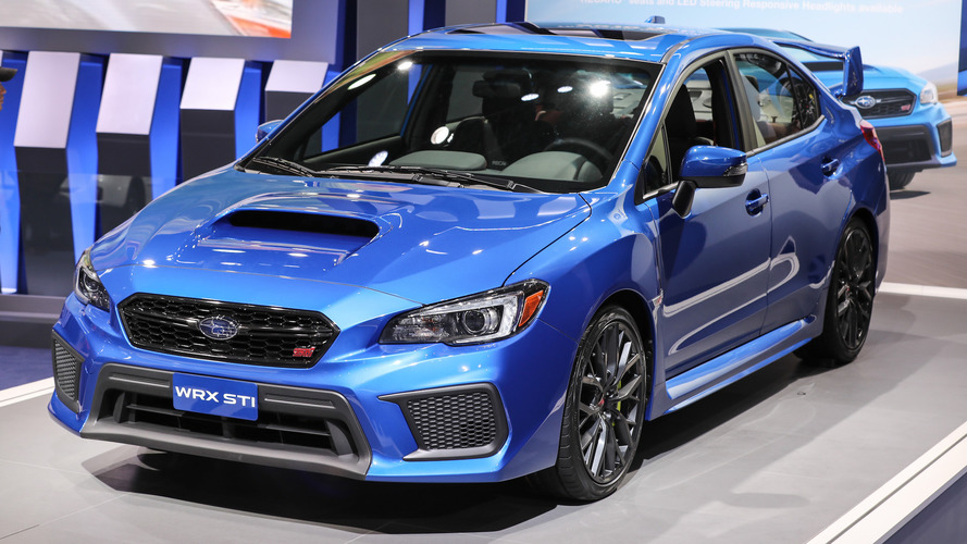 2018 Subaru Wrx And Sti Detroit 2017