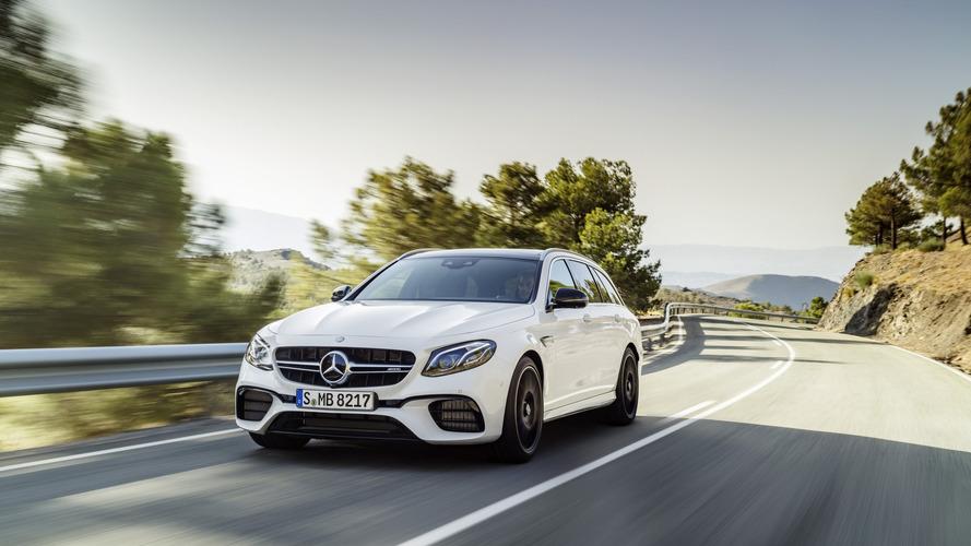 Kaslı Station Wagon: 2018 Mercedes-AMG E63 S Wagon