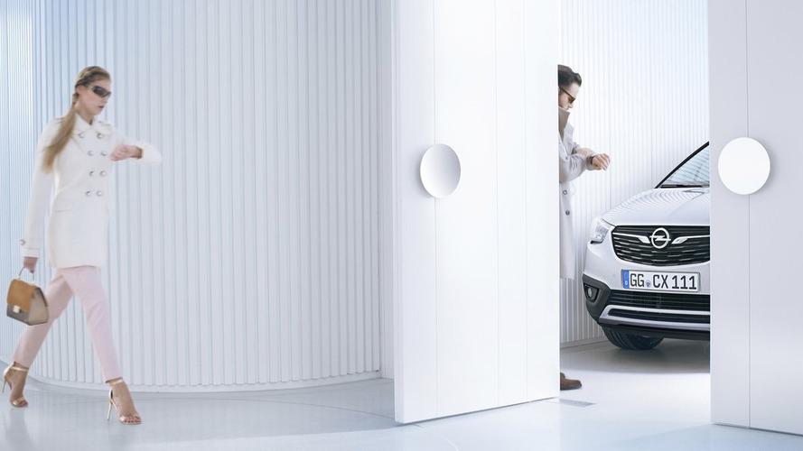 Opel Crossland X teased ahead of Wednesday reveal