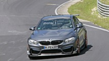 2019 BMW M4 GTS spy photos