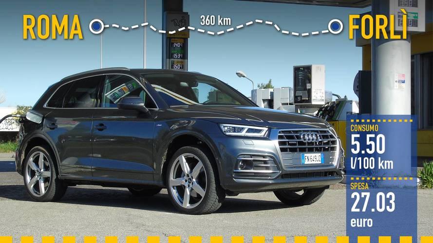 Audi Q5 3.0 TDI, la prova dei consumi reali