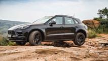 Porsche Macan restyling, i teaser