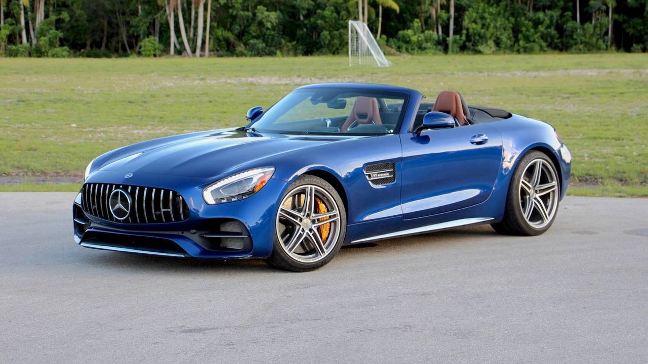 2018 mercedes amg gt c roadster review performance over pleasure. Black Bedroom Furniture Sets. Home Design Ideas