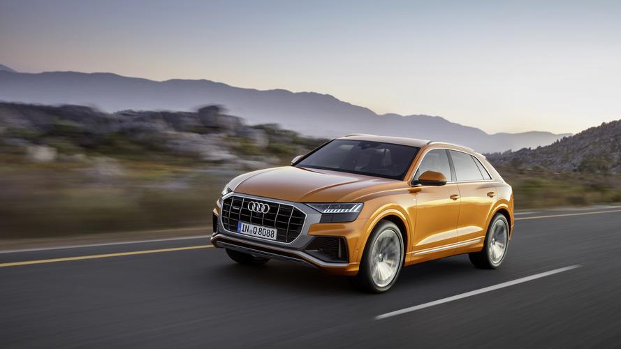 A vadonatúj Q8 lett az Audi első modellje az Coupé-SUV szegmensben