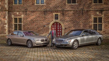 2004 Maybach 62 & BMW 760Li