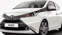2014 Toyota Aygo leaked official photo