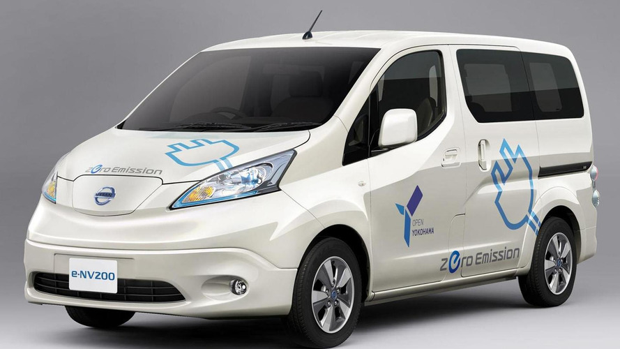 2014 Nissan e-NV200 revealed, debuts in Tokyo