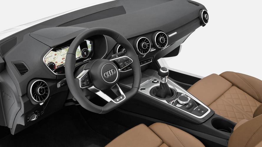 2015 Audi TT interior revealed at CES