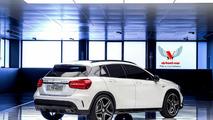 2014 Mercedes-Benz GLA 45 AMG render