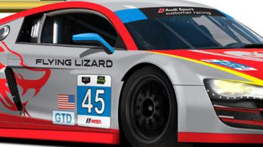 Audi previews the liveries and driver lineup for the Rolex 24 Hours at Daytona