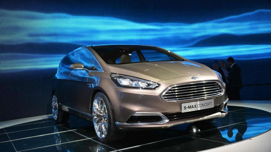 Ford S-MAX Concept unveiled at IAA