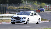 2014 Mercedes-Benz extra-long wheelbase spy photo