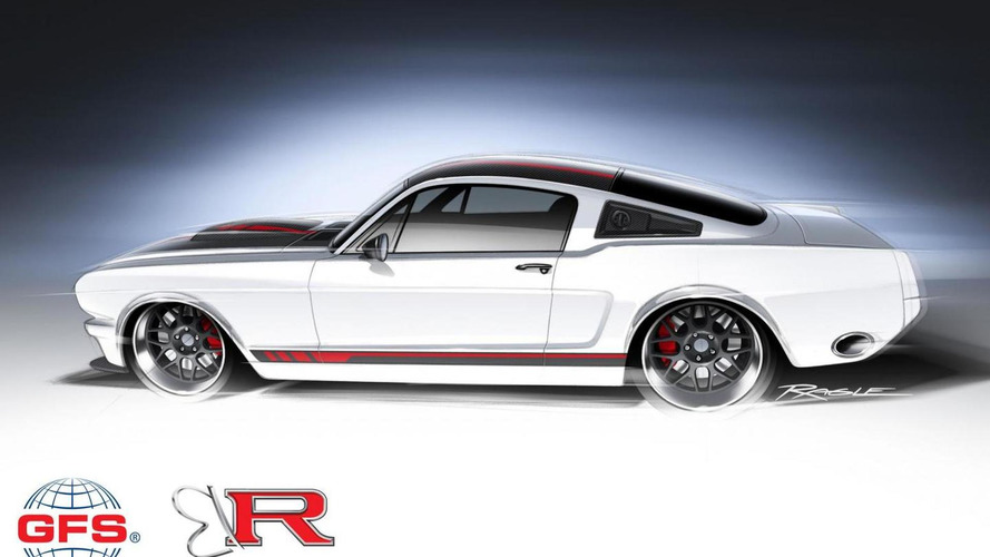 Ringbrothers 1965 Ford Mustang headed to SEMA with 710 bhp