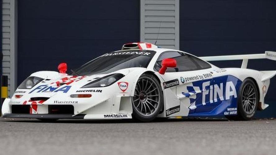 McLaren F1 GTR Longtail race car going up for auction