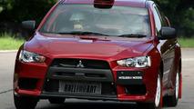 Mitsubishi Lancer Evo X WRC Course Car
