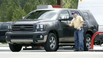 Toyota Sequoia Latest Spy Photos