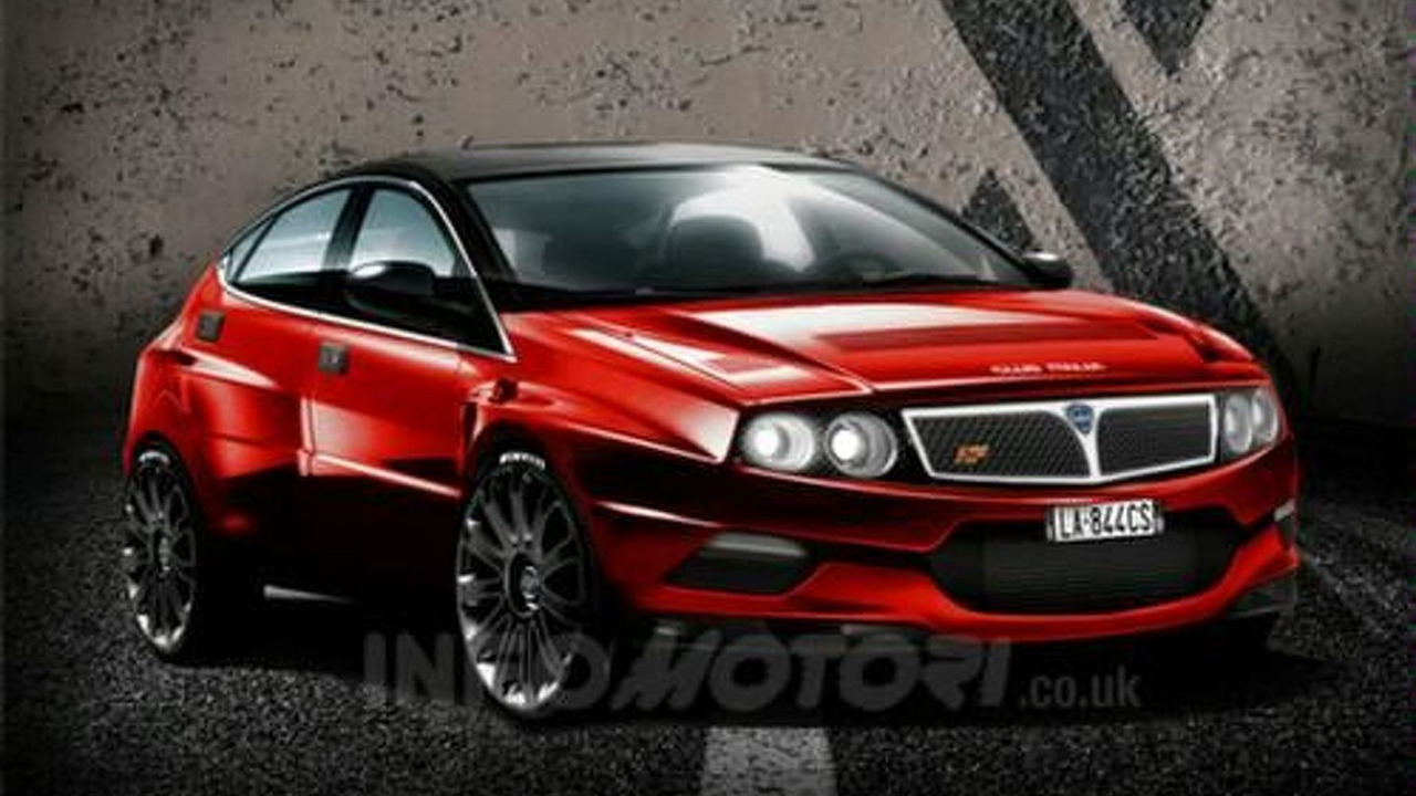 Lancia Delta HF Integrale Rendering by Infomotori.co.uk