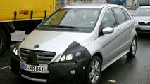Mercedes B Class Spied