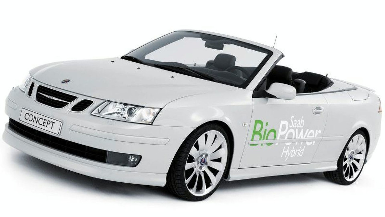 Saab Exhibits World's First Fossil Fuel Free Hybrid