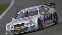 Jean Alesi Tested AMG Mercedes CLK-DTM