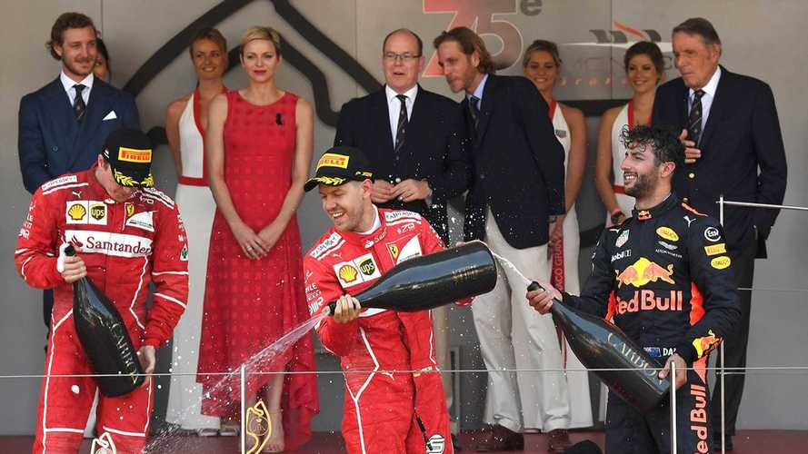 2017 F1 Monaco Grand Prix - Race Results