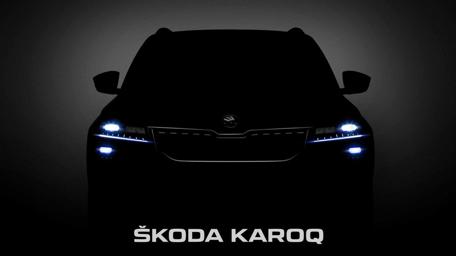 2018 Skoda Karoq Partially Revealed In Official Images