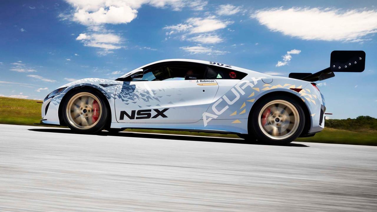 Acura NSX ve TLX - Pikes Peak 2017