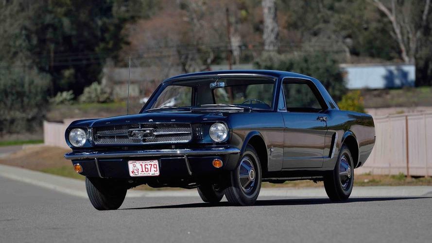 Enchères - La toute première Ford Mustang Coupé est à vendre !