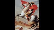 Jacques-Louis David - Il Primo Console supera le Alpi al Gran San Bernardo, 1800, Malmaison