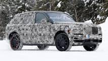 Rolls-Royce Cullinan Spy Shots