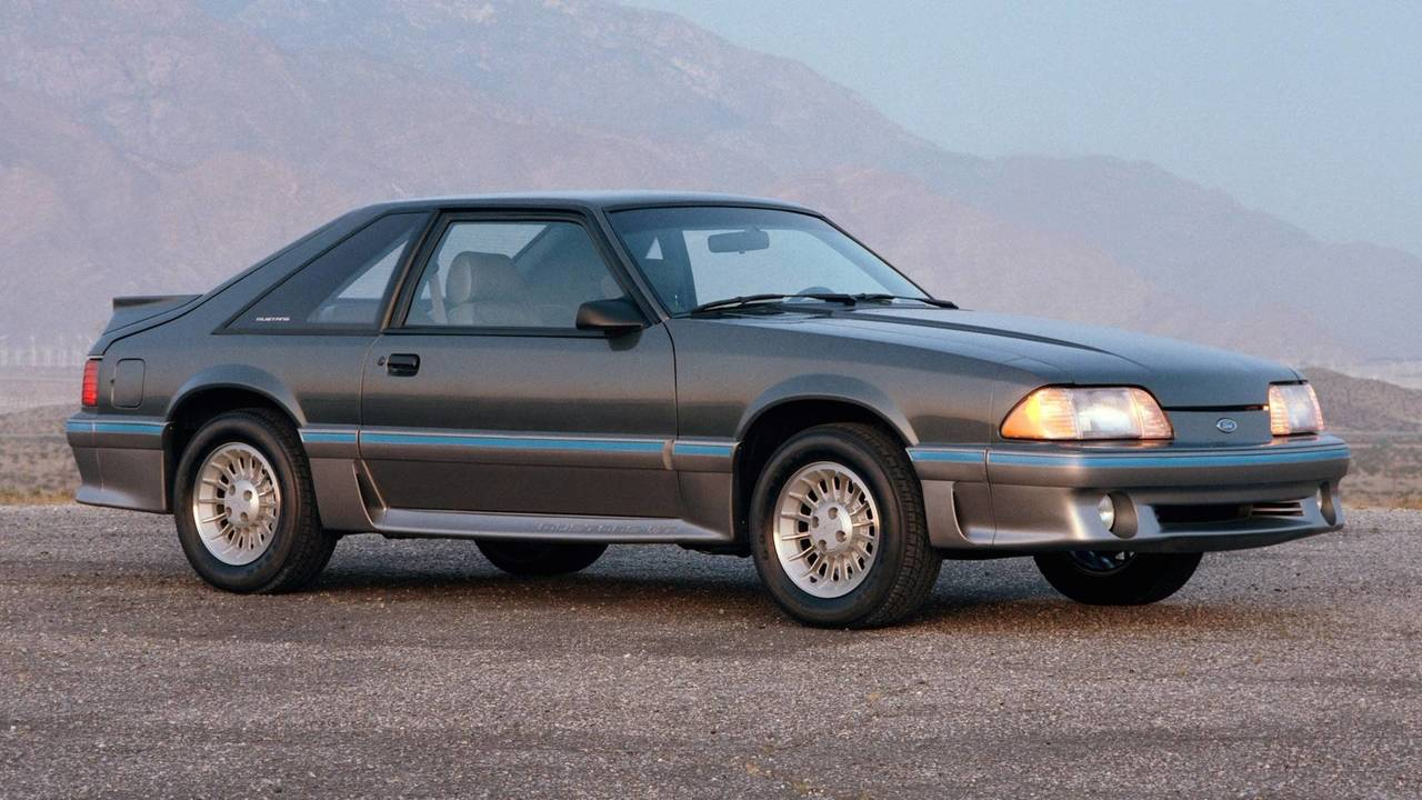 2. 1987 Ford Mustang 5.0