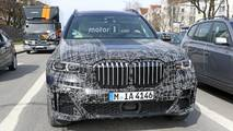 BMW X7 kabin casus fotoğraf