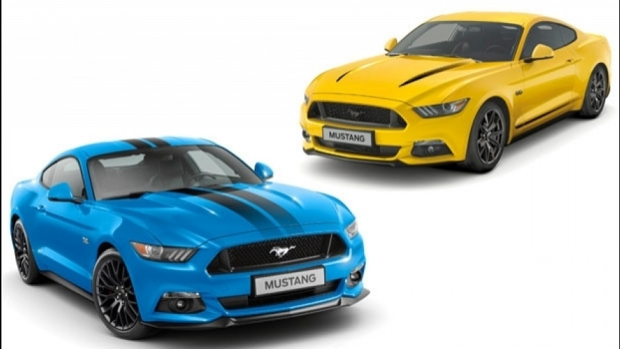 Ford Mustang, due Special Edition per l'Europa