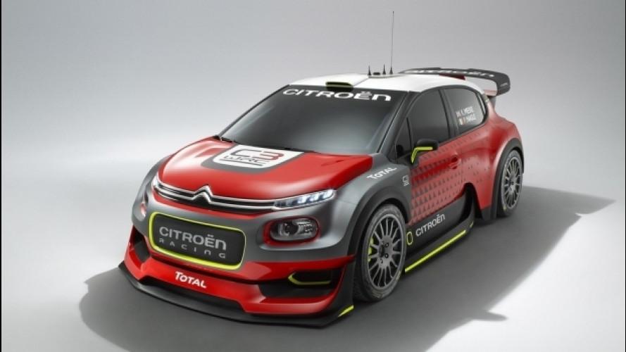 Citroen C3 WRC Concept, pronta a scendere in pista [VIDEO]