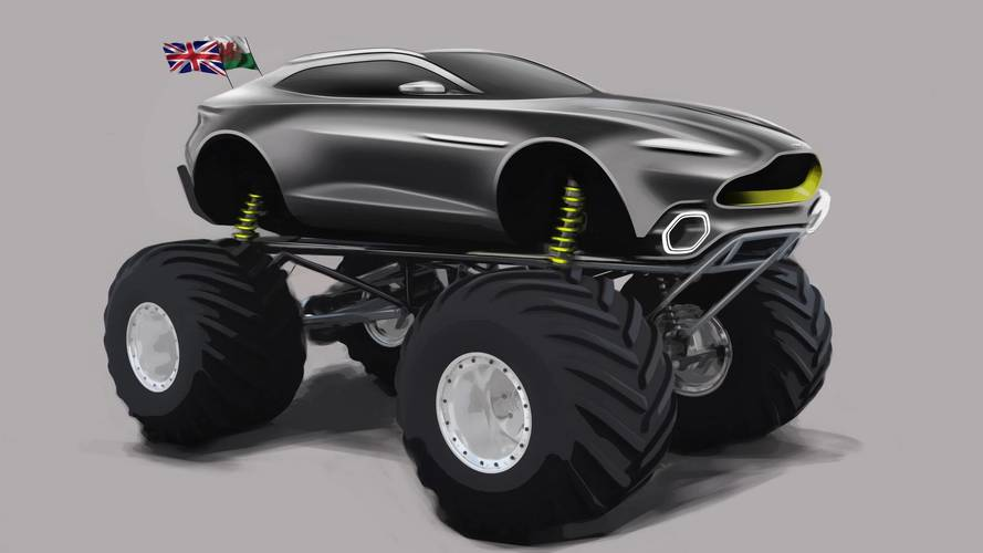 Aston Martin Project Sparta Revealed As 1,100-HP Monster Truck