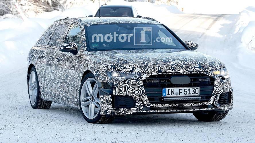 Audi S6 Avant kamuflajlı olarak görüntülendi