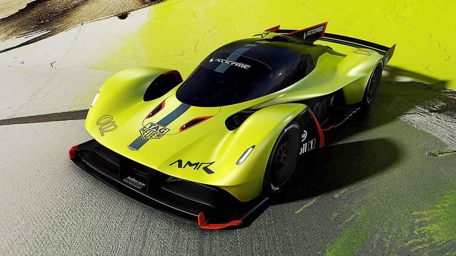1100 beygir gücündeki Aston Martin Valkyrie AMR Pro tanıtıldı