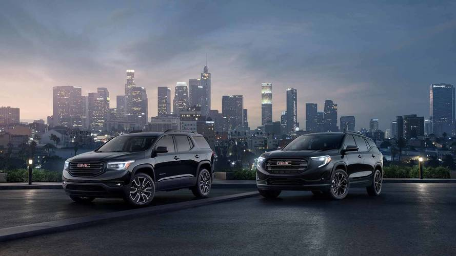 2019 GMC Acadia And Terrain Look Dapper In New Black Editions