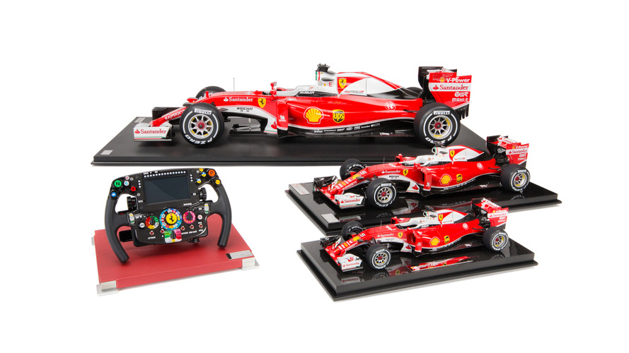 Amalgam Collection launches Scuderia Ferrari  SF16-H collection