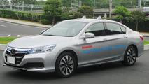 Autonomous Honda Clarity fuel cell