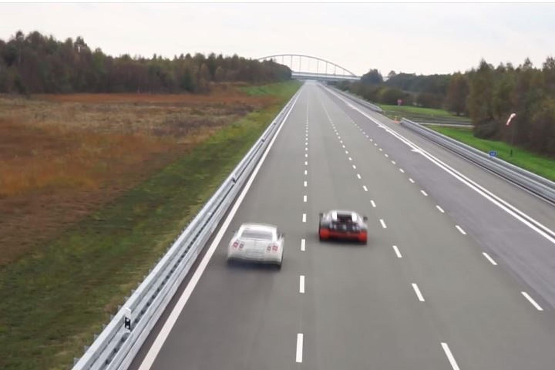 Watch a Bugatti Veyron Vitesse Race a Tuned Nissan GT-R