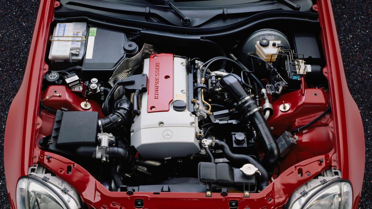 First-generation Mercedes SLK