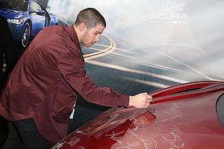 2017 Acura NSX Hood For Sale on eBay, Signed by Sundance Celebrities