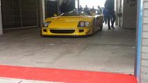 One-off Ferrari F40 LM Barchetta filmed on track [video]