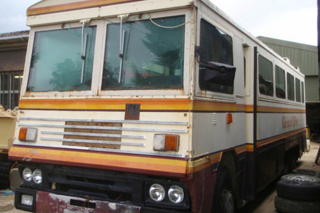 Margaret Thatcher's Armored Bus Up For Auction