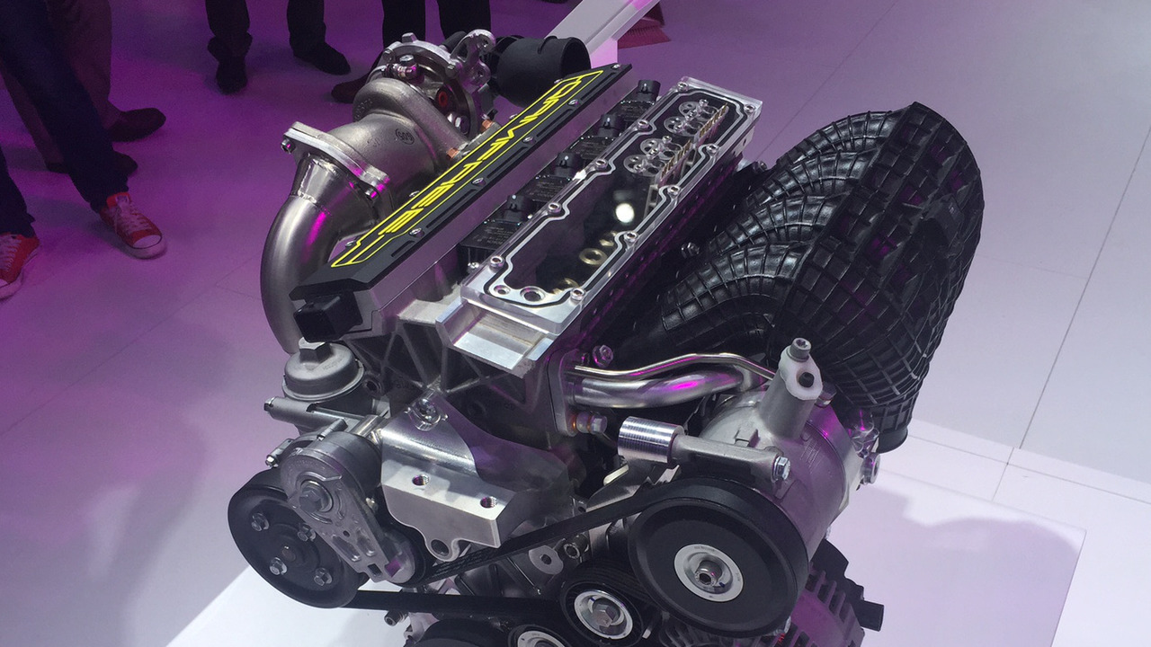 Qoros Qamfree engine