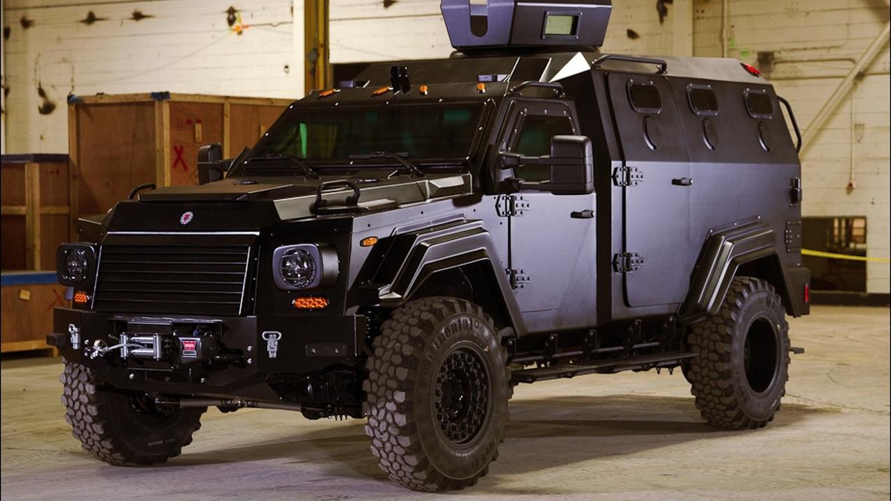 Courtesy of Terradyne Armored Vehicles Inc.